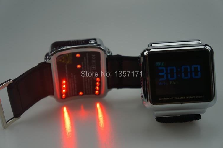 blood pressure regulating portable soft laser watch blood water