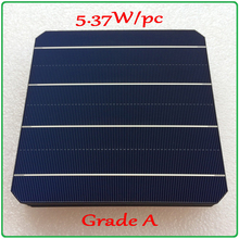 solar cell panel 21.6% high-efficiency A grade 156mm 4BB monocrystalline solar cell 5.37W/pc enough-power Mono Solar Panel Cell