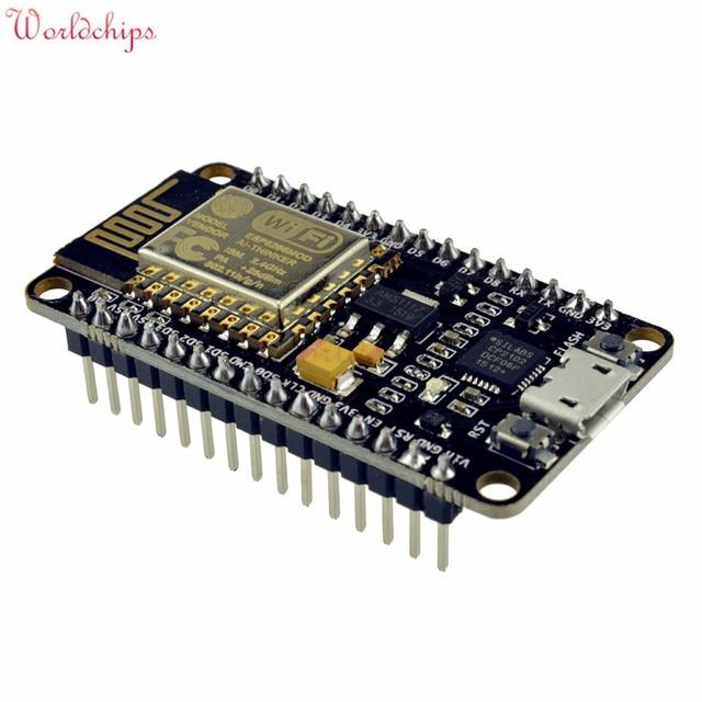 Draadloze CP2102 NodeMcu Lua WIFI Internet Van Dingen (IOT) Development Board Module Gebaseerd ESP8266 USB IO Pins Poort