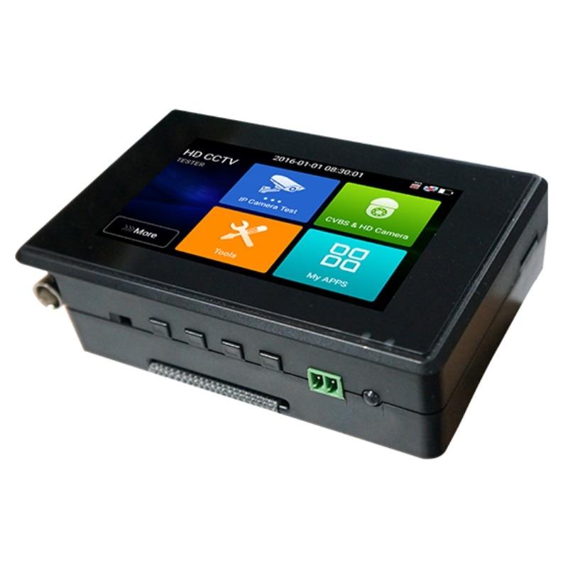 Wanglu plus récent 4 pouces poignet CCTV IP caméra testeur H.265 4 K IP 8MP TVI 8MP CVI 8MP AHD analogique 5-en-1 CCTV testeur moniteur avec WIFI - 4