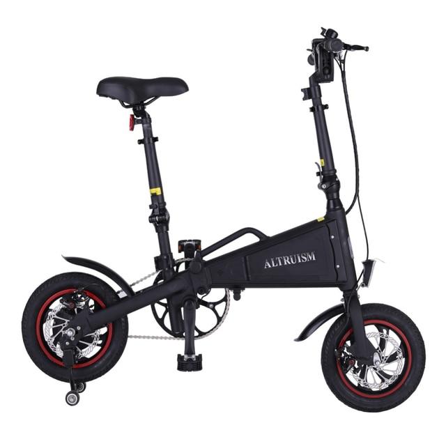 ALTRUISM A1 36 В * 350 Вт Электрический велосипед Велоспорт Водонепроницаемый каркас внутри литий-на Батарея складной мотоциклов