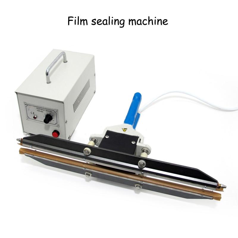 Handle Clamps Portable Plastic Film Polyethylene PE Film Packaging Machine Instant Heating Sealing Machine zonesun pe stretch film machine