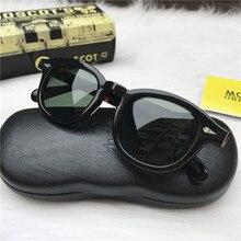 Fashion Johnny Depp Sunglasses Men Women With Case&Box Luxury Brand Designer Sun Glasses For Male Female Oculos de