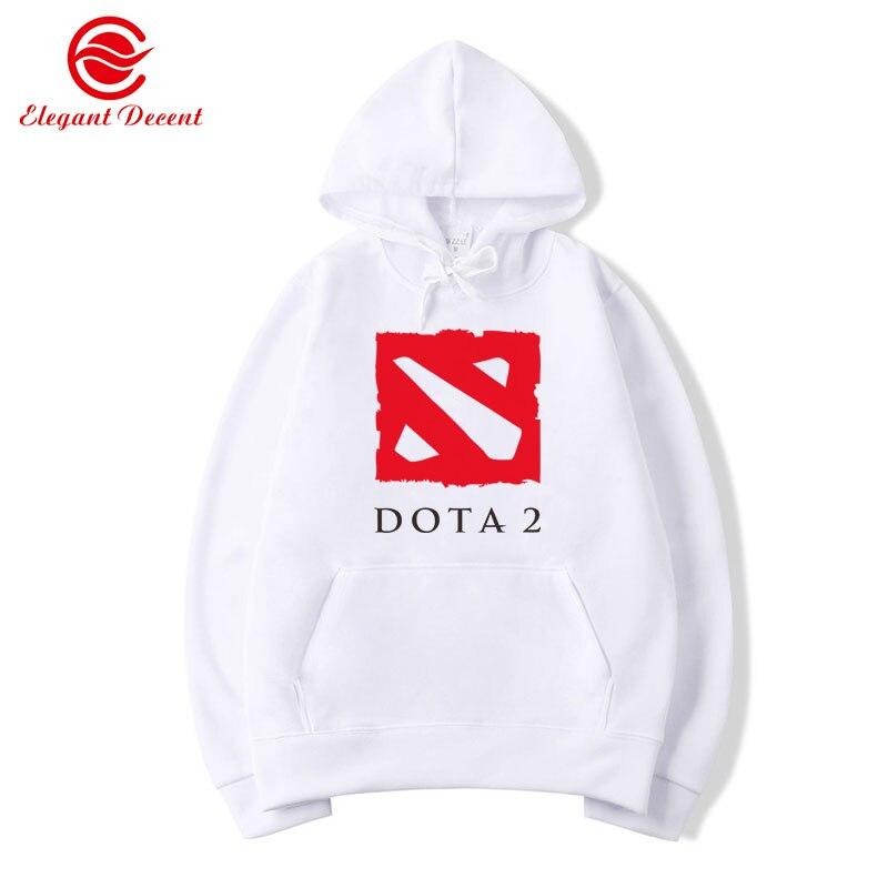 2019 Men's Hoodies Game Dota 2 Hoodie Men Casual Streetwear Fleece Hoody Dota2 Sweatshirts Hombre Sudadera Brand Clothing Y12