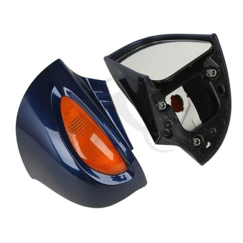 Dark Blue Rear View Mirrors Turn Signals for BMW R1100RT R1150RT R1100 RT R1150 RT