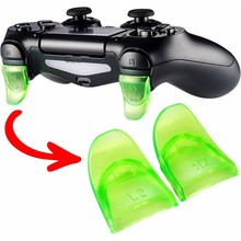 L2 R2 Buttons Trigger Extenders Gamepad Pad for PlayStation 4 PS4 Game Controller 6 Colors