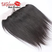 Indian Virgin Hair Straight Lace Frontal Closure 4×13 Unprocessed Human Hair can be bleached knots Free Shipping Ms Lula hair