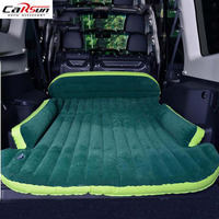 Car Air Inflated Bed Car Styling Camping Travel Seat Cover Cushion Bed With Air Pump Repair