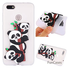 Panda Case sFor Ajax Huawei Enjoy 7 Soft Silicone Back Cover Telefon Aksesuar Case Huawei Ascend Y6 Pro 2017 Huawei P9 Lite Mini(China)