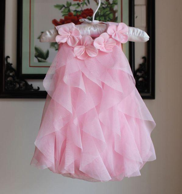 6c8818746f69 Baby dresses infant clothing newborn bebe ruffle+ flower mesh ...