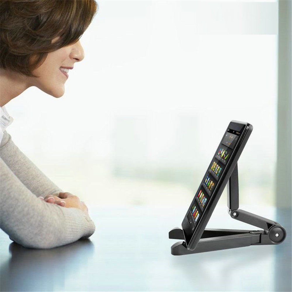 Universal Foldable Phone Tablet Holder Adjustable Desktop Mount Stand Tripod Stability Support for iPhone iPad Pad Table 2