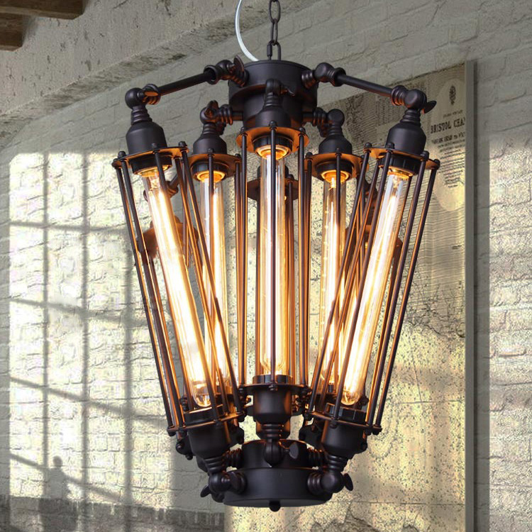 2017 New American Retro Pendant Lights Industrial lamp Loft Vintage Restaurant Bar Alcatraz Island Edison Lampe Hanging lighting joan baez cap roig
