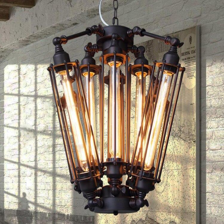 vintage pendant light industrial edison lamp american metal style rh loft coffee bar restaurant kitchen 8 art deco kitchen lighting