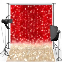 MEHOFOTO Red Shimmer New Fabric Flannel Photography Background For Wedding Light Backdrop Vinyl For Family photo studio F548