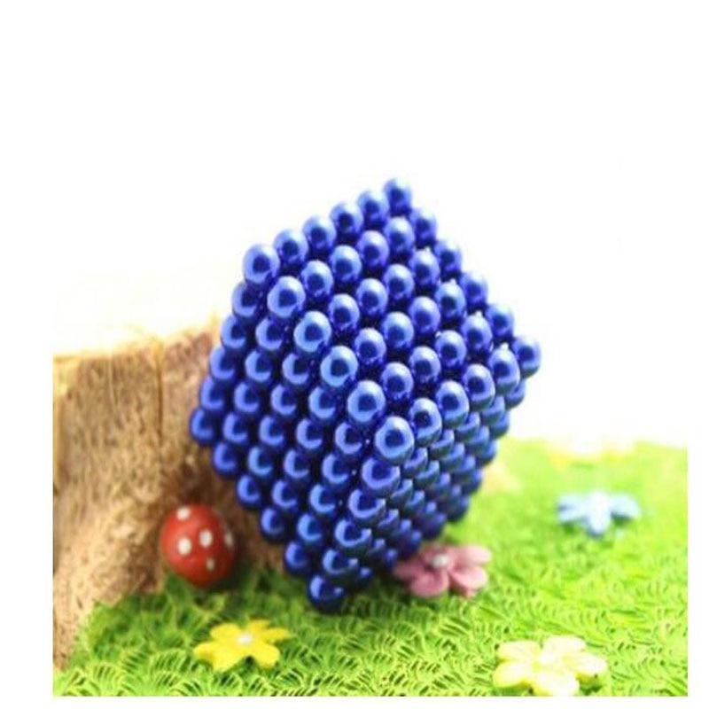 216-1000pcs 5mm Ball Decompression Puzzle Building Blocks Magnetic balls стоимость