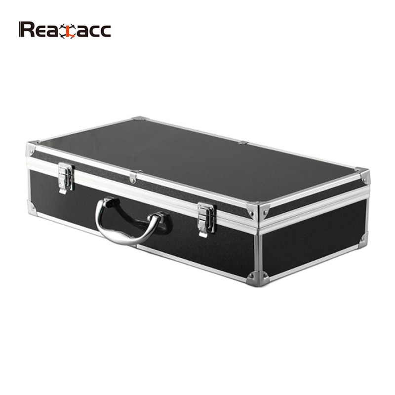 New Arrival Realacc Aluminum Suitcase Carrying Case Box For Hubsan X4 H502S H502E RC Quadcopter 7 4v 2700mah 10c battery 1 in 3 cable usb charger set for hubsan h501s h501c x4 rc quadcopter