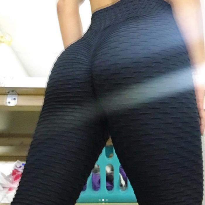 d4e3a893623b9e 2019 Women Anti Cellulite Compression Leggings Slim Fit Butt Lift ...
