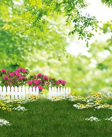 2016 New 5x7ft Garden Spring Scenic Camera Photos