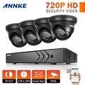 Annke 8ch 1080 p hdmi 720 p cctv sistema de segurança dvr e (4) 720 P 1200TVL CCTV Câmeras de Vigilância À Prova de Intempéries do IR Ao Ar Livre kit