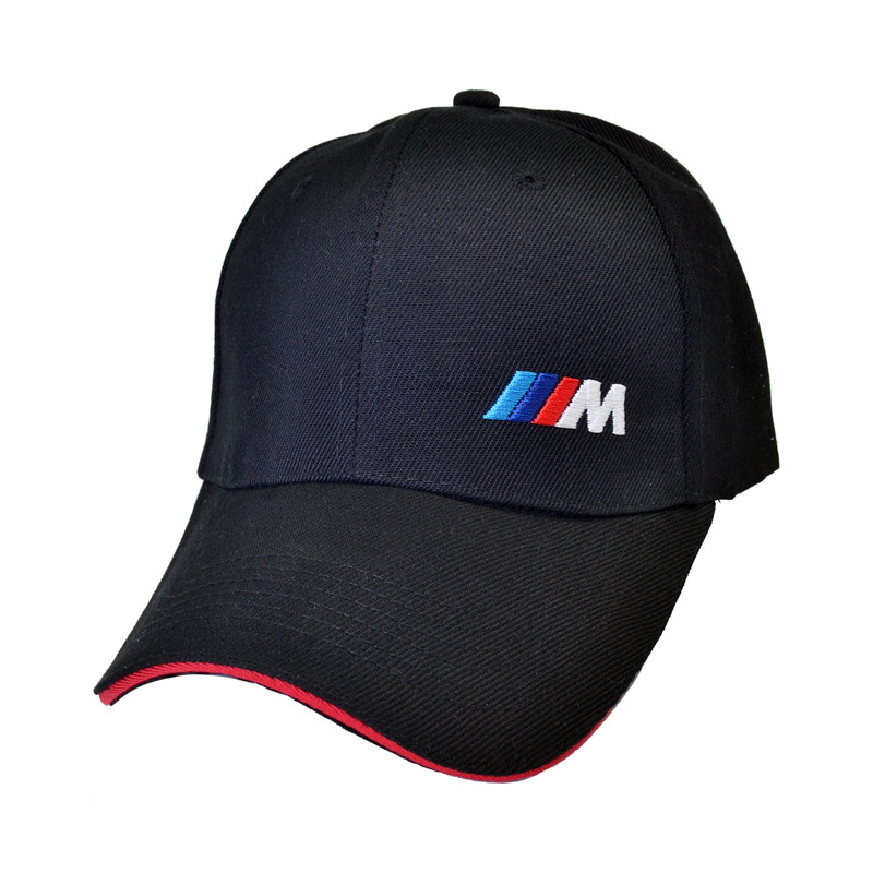 racing hat Fashion Cotton Car logo M performance Baseball Cap hat for M3 M5 3 5 7 X1 X3 X4 X5 X6 330i Z4 GT 760li E30 E34 E36
