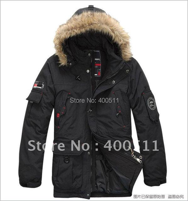Free shipping Winter down coat plus size men's clothing outerwear fat top  k1100395