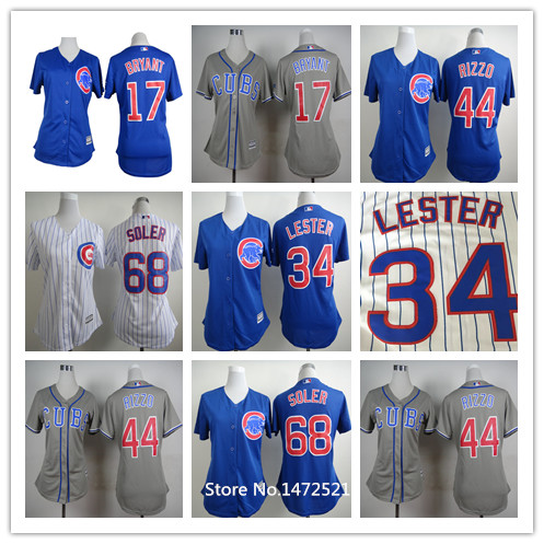 Chicago Cubs Women Kris Bryant Jersey 0adc7b8aec
