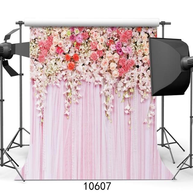 sjoloon boda flor rosa props xft photography fondo de vinilo estudio fotogrfico teln