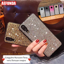 For Huawei P30 Mate 20 Pro Lite Case P Smart 2019 For Huawei P20 Pro Lite Case Honor 10 8X Cases Luxury Glitter Diamond Silicone(China)