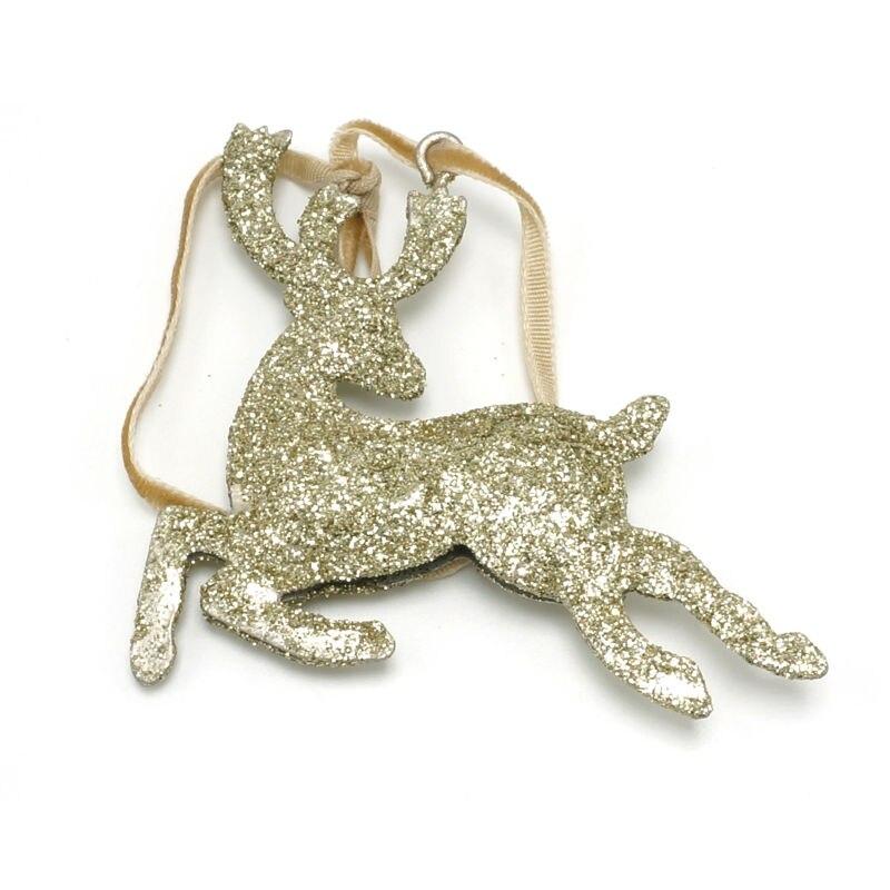 Jõulupuu kaunistused varustab 6pcs kuldset läikivat metallist - Pühad ja peod - Foto 1