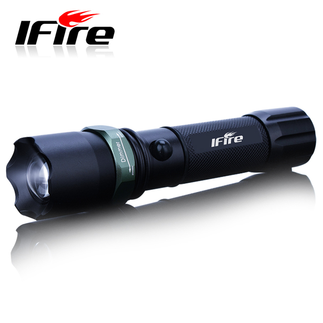 Glare flashlight ifire 803 q5 mobile phone usb charge escape hammer
