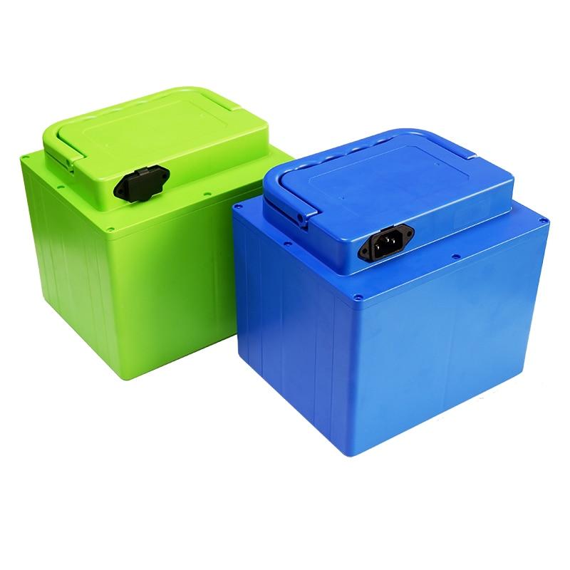 48V 51 8V 20Ah Lithium battery case For 13S 14S 9P 18650 battery pack Includes holder
