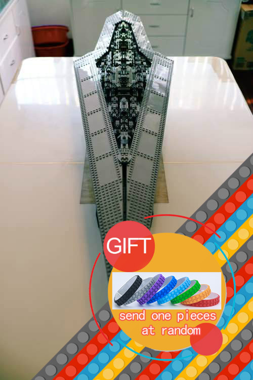 05028 Star Wars Execytor Super Star Destroyer Model Building Kit Mini Block Brick Toy Gift Compatible 75055 tos lepin lepin 05028 3208pcs star wars building blocks imperial star destroyer model action bricks toys compatible legoed 75055