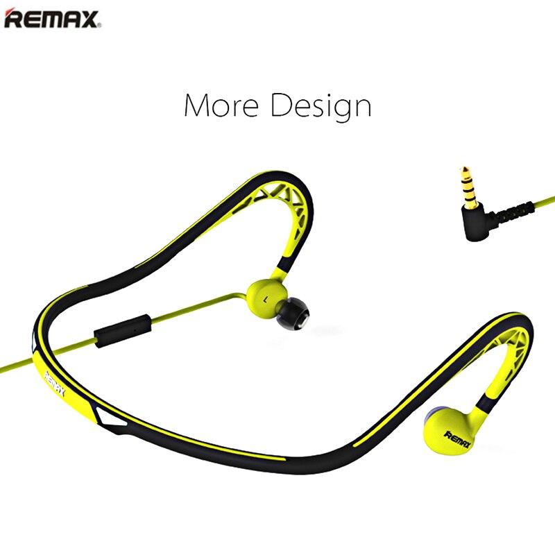 bilder für Ursprüngliche remax s15 sport in-ohr kopfhörer mit mikrofon ohrhörer haedsets für iphone 6 s xiaomi mit 30-grad rotierenden kopfhörer