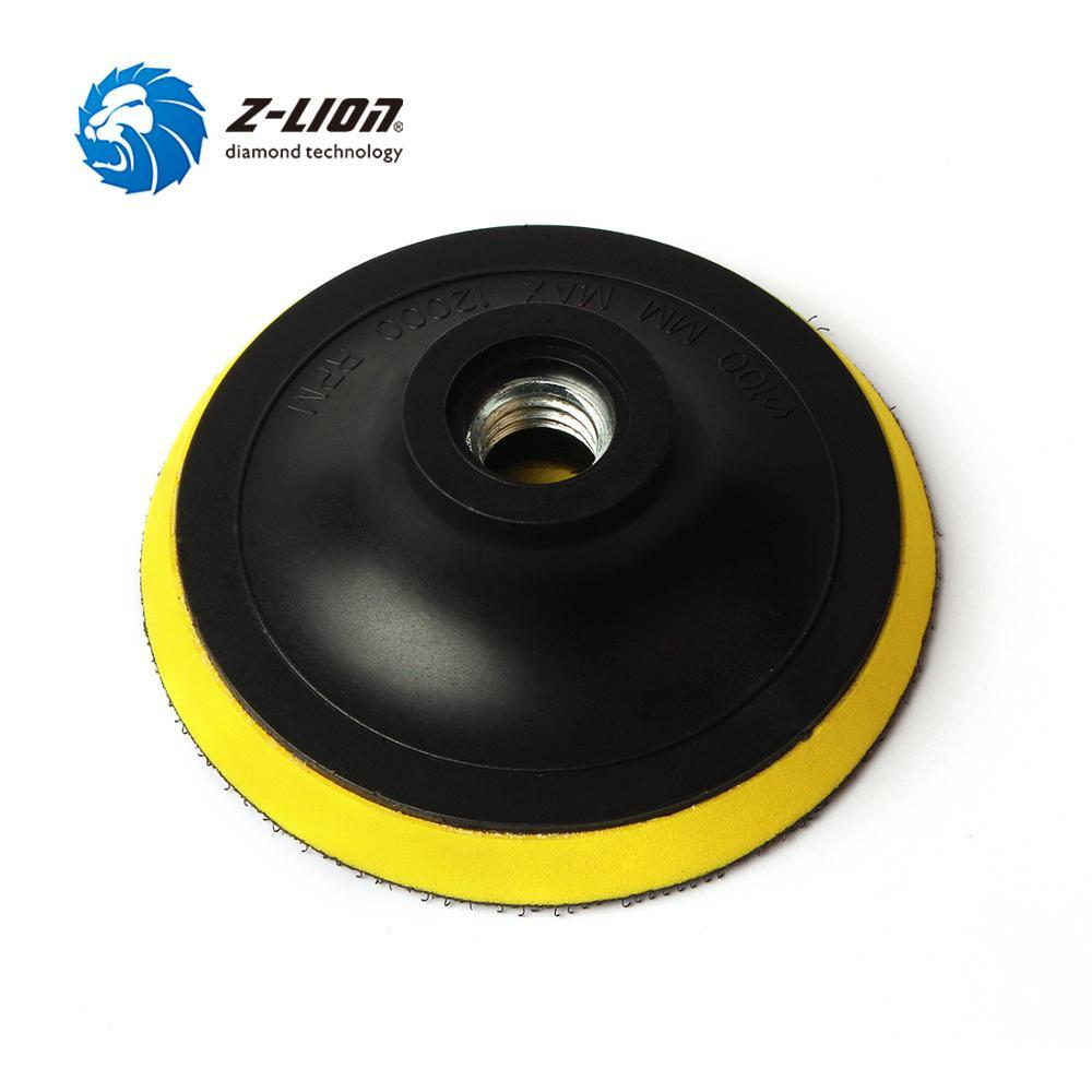 4 Inch Polisher Backing Plate 5//8-11 Flexible Backer Holder for Diamond Polisher
