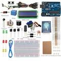Kit SunFounder 12 Proyectos para Los Principiantes a Aprender Arduino LCD 1602 Starter Kit V2.0 para Arduino con Sunfounder uno R3 junta