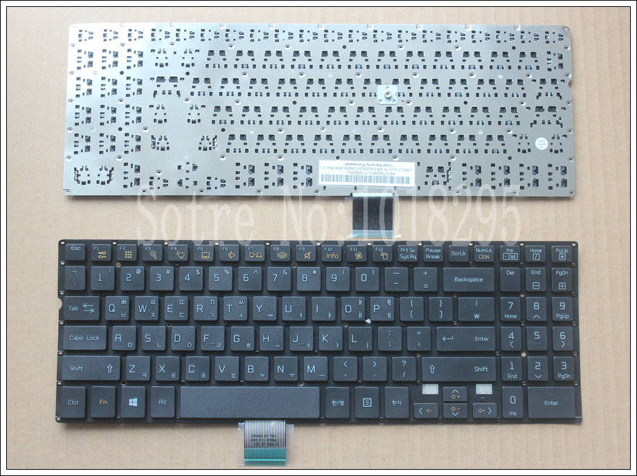 new Korea Laptop Keyboard For LG U560 teclado KR black without frame перфоратор dewalt d 25601k