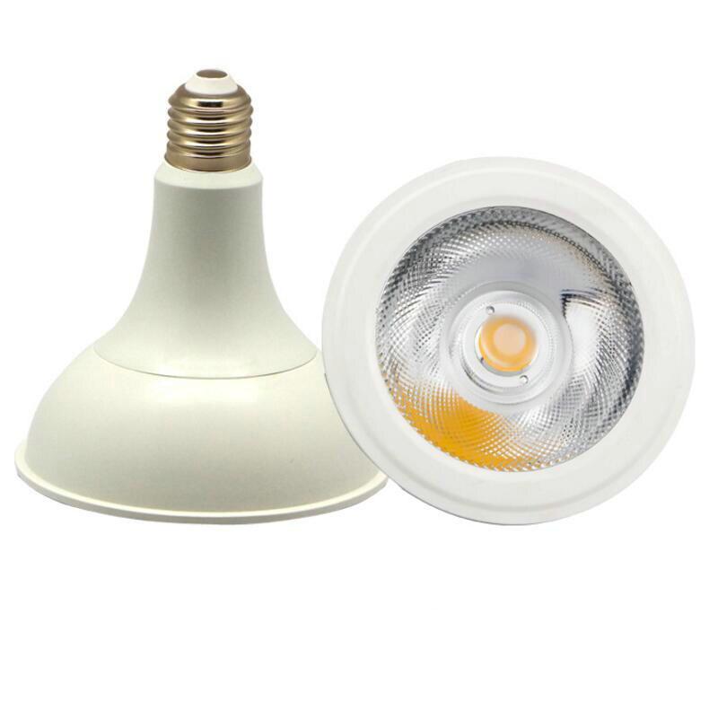Işıklar ve Aydınlatma'ten LED Ampüller ve Tüpler'de COB LED PAR38 Ampul 15W 20W 30W E27 LED COB Spot Aydınlatma Kapalı ve Açık ışık AC110V 240V ücretsiz Kargo title=