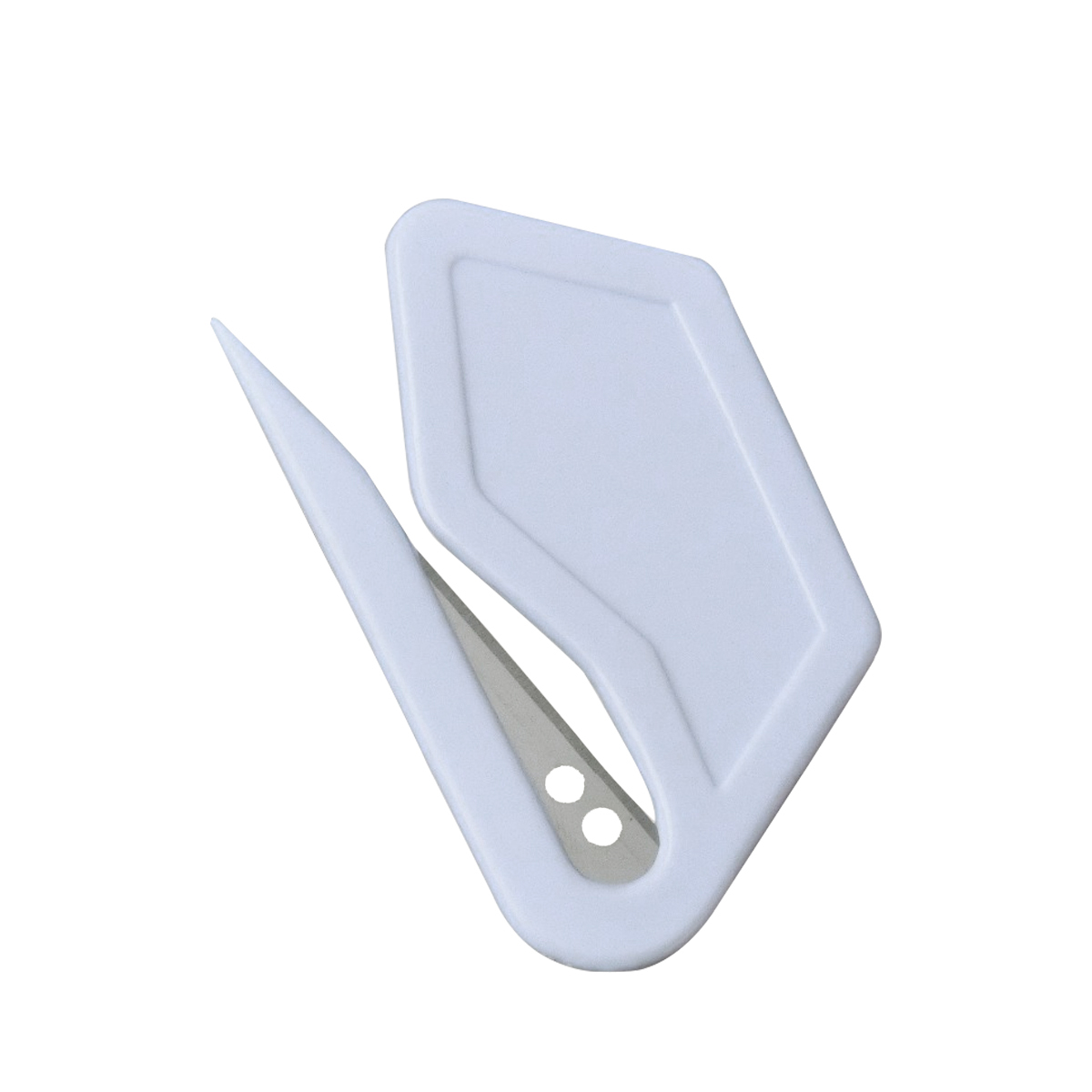 200 Pcs/Pack Mini lettre couteau lettre courrier enveloppe ouvreur Sharp sécurité papier gardé lame de coupe avec Logo personnalisé