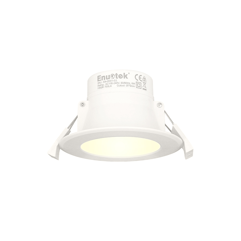 8w led small recessed downlights recessed ceiling lights warm white lighting 3000k cut f70 85mm ac100 240v ip44 for bathroom