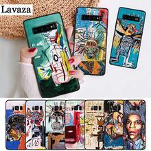 Lavaza Jean Michel Basquiat Art Graffiti Silicone Case for Samsung S6 Edge S7 S8 Plus S9 S10 S10e Note 8 9 10 M10 M20 M30 M40