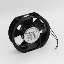 New Round 175*150*50mm Aluminum Fan Ball Bearing Airflow Fan AC220V Cooling Equipment work with Humidity controller XF1552ABH new original nmb 3115ps 23t b30 ac220v 10 8w 80 38mm cooling fan