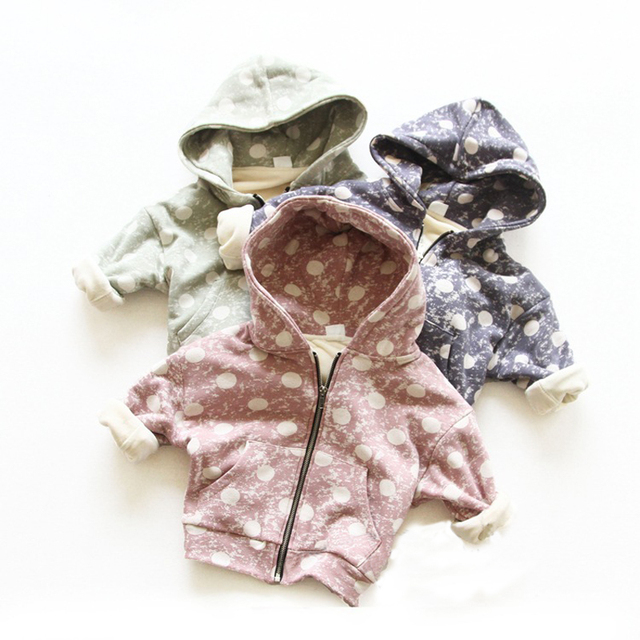 Cemigo New Children Outerwear Boys Warm Hoodies Girls Casual Sweatshirts Kids Thick Tops Clothes IU547