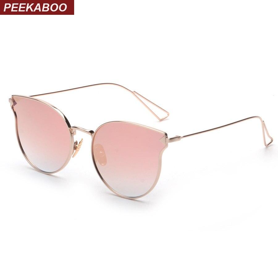 Aliexpress.com : Buy Peekaboo Pink mirror sunglasses new ...