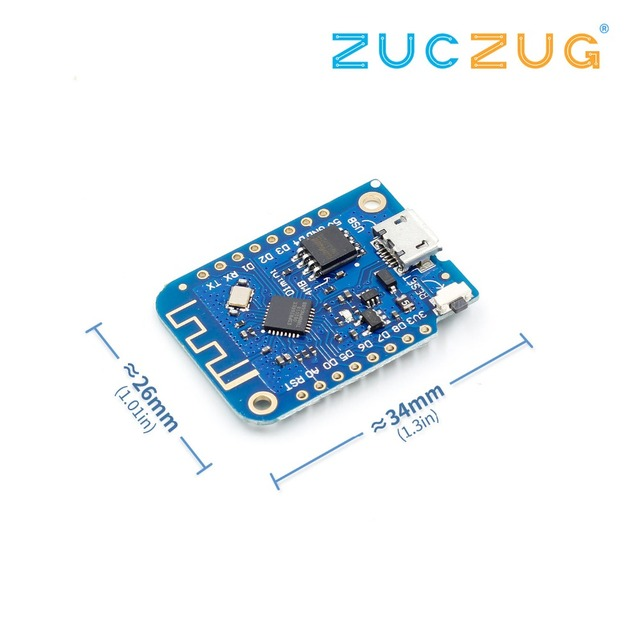 Wemos D1 Mini V3.0 3.0 Wireless WIFI Internet of Things Development Board Based ESP8266 CH340 CH340G 4MB For Arduino Nodemcu V2