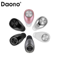 Original DAONO Mini Twins True Stereo Bluetooth Earphone In Ear Headset TWS Wireless Bluetooth Handfree For