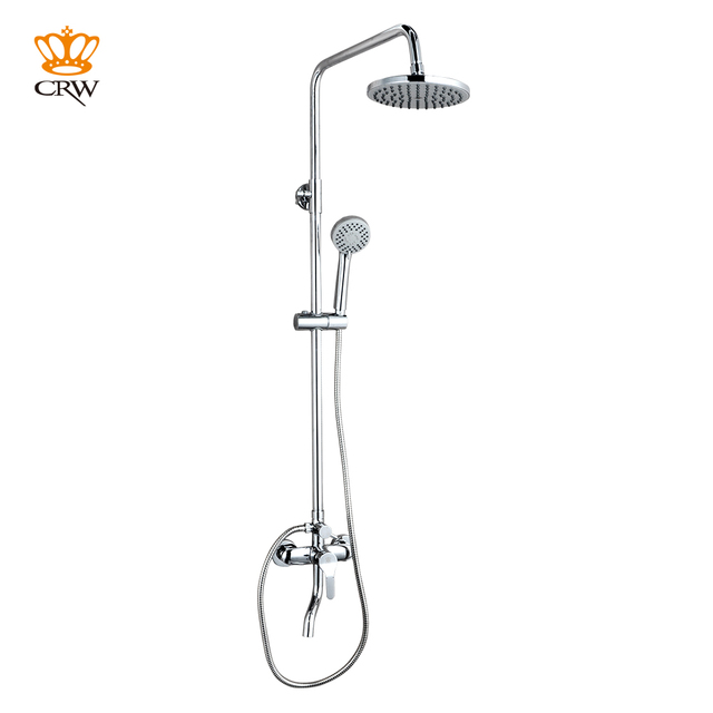 Crw 3 Function Shower Mixer Set System With Rain Shower Head