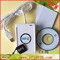 USB programable Inteligente RFID NFC Tag/Tarjeta/Etiqueta Engomada Lecteur Leser sistema ePOS Apoyo Lector de Tarjetas Escritor