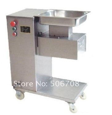 Free Shipping Total 2 blades/ Meat Cutter Machine Export to United States Meat Slicer 500KG/hr free shipping 110v vertical meat cutting machine 500kg hour fast shipping by dhl meat slicer