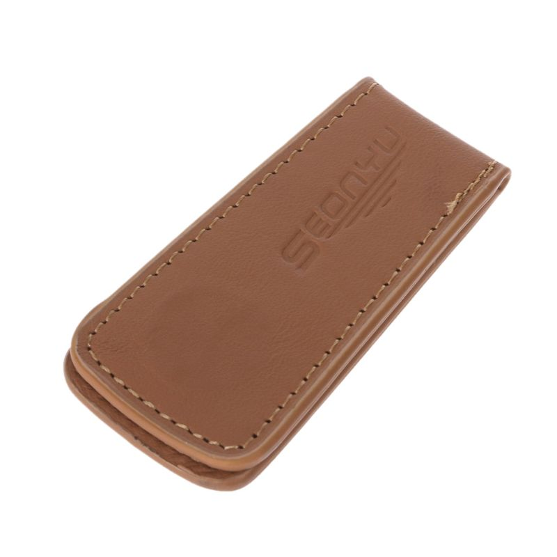 Mens Leather Wallet Cash Clip Women's Metal Fine Cash Clip Money Clip Couple Holder Wallet Insurance For Money
