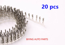 VW Skoda Seat Crimp pins For Repair Wire 000979009E 20PCS--VW Terminal N 907 647 01 / 000 979 009 Female Modified terminal